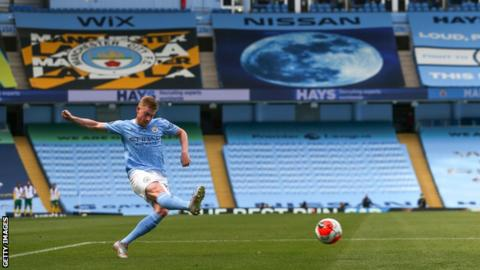 Manchester City star De Bruyne crowned Premier League Player of the Season
