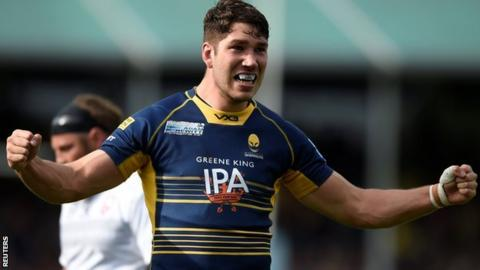 Worcester Warriors lock forward Andrew Kitchener was a member of England's World Rugby Under-20s Championship winning squad in 2016
