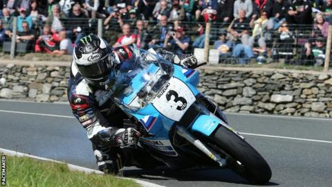 Michael Dunlop has won the Classic TT Superbike race three times