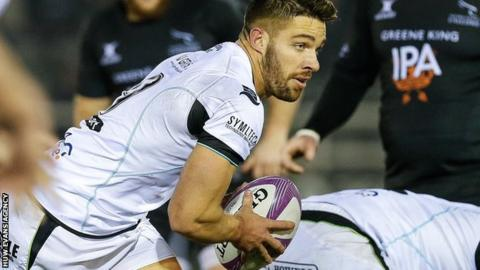 Rhys Webb in action for Ospreys