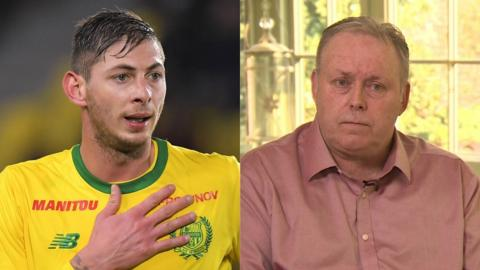 Emiliano Sala and Willie McKay split picture