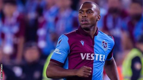 Daniel Sturridge in Trabzonspor kit