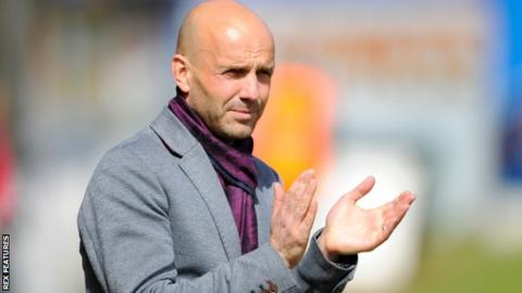 MK Dons manager Paul Tisdale