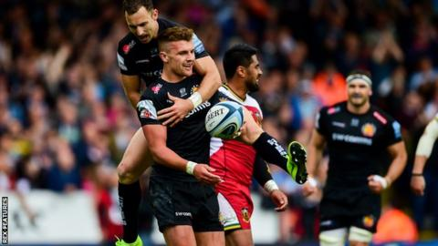 Premiership: Exeter finish top, Northampton reach play-offs, Bath sneak sixth