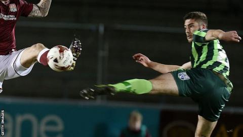 AFC Wimbledon defender Ryan Sweeney