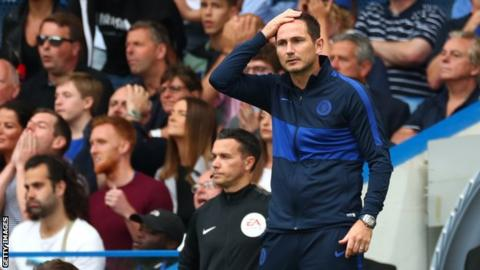 Lampard relieved to break Stamford Bridge duck with win over Brighton