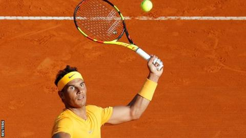Rafael Nadal beats Karen Khachanov at the Monte Carlo Masters