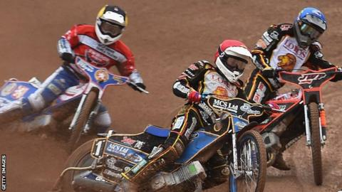 Speedway at Leicester
