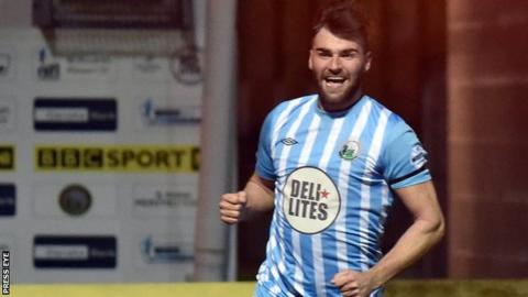 Johnny McMurray has made a big impact at Warrenpoint since arriving from Cliftonville