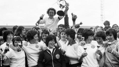 Southampton Women in 1976