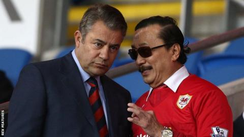 Mehmet Dalman and Vincent Tan