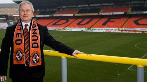 Dundee United chairman Mike Martin
