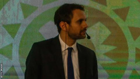 Football administrator Amr Fahmy