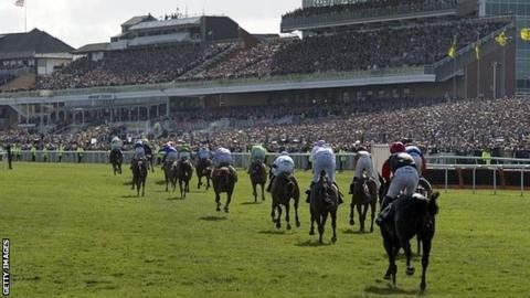 Runners at the Grand National meeting