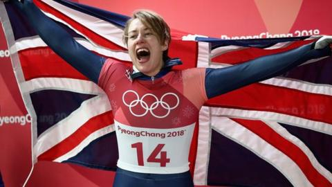 Lizzy Yarnold is one of the athletes backing the #More2me campaign