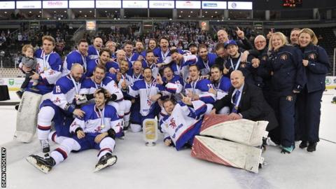 Great Britain won all five of their World Championship Division 1 Group B matches