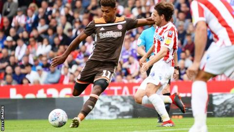 Ollie Watkins equalised for Brentford at Swansea