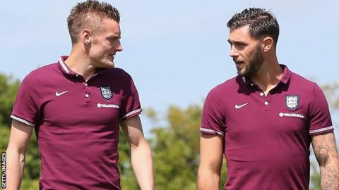 Jamie Vardy and Charlie Austin