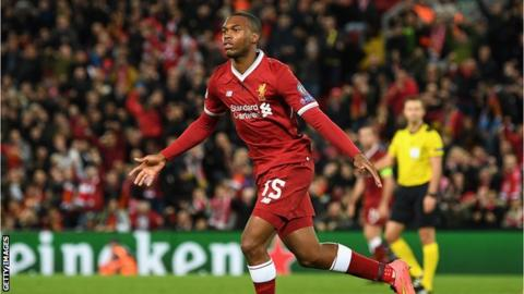 Liverpool turn down Sevilla's loan offer for Daniel Sturridge