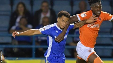 Elliott List's only start for Gillingham this season was in the 2-2 home draw with Blackpool