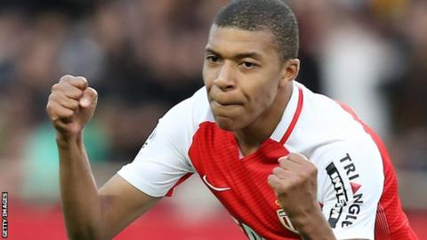 Kylian Mbappe has joined Paris St-Germain