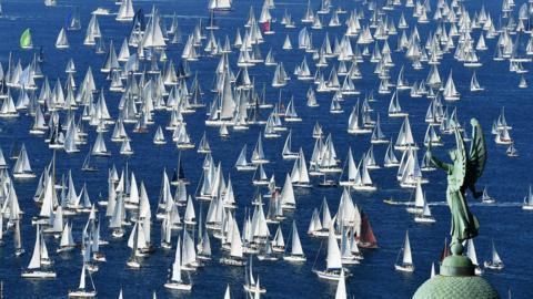 The 50th Barcolana Regatta