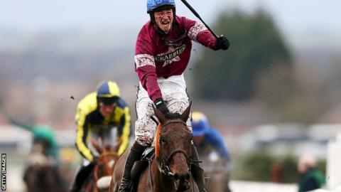 David Mullins won The Grand National in his first ride in the famous race on 33-1 shot Rule The World
