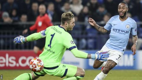 Schalke 2-3 Manchester City: Raheem Sterling snatches late win for City