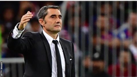 Barcelona sack coach Valverde and rent Setien thumbnail