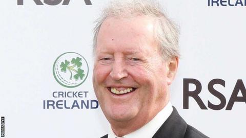 Northern Ireland Former Cricket Ireland president Basil McNamee