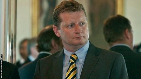 Matt Rawnsley was first on Worcestershire's staff as a player from 1996 to 2002