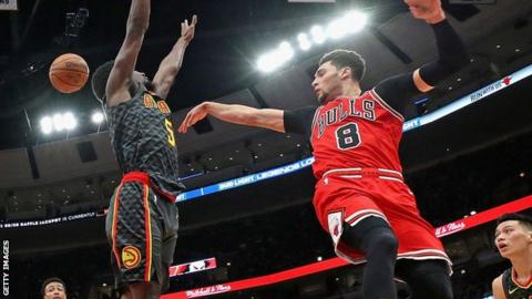 Four stats from the Bulls' four-overtime victory over the Hawks