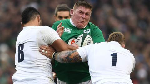 England face Ireland for Grand Slam