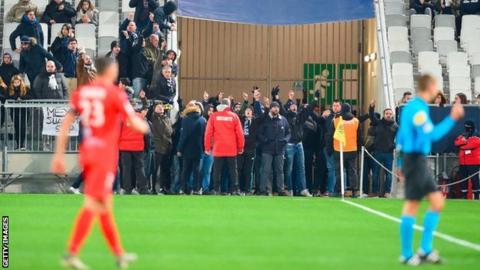 Bordeaux fans