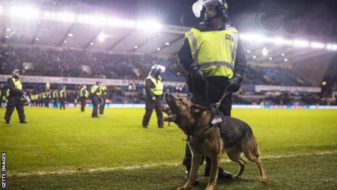 FA to investigate alleged racist chanting in Millwall-Everton clash