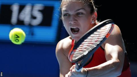 Australian Open 2018: Simona Halep to face Angelique Kerber in semi-finals