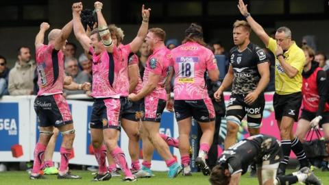 Exeter beat Montpellier