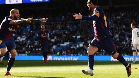 cf85d16e660 Messi just made an assist with one boot on... - BBC Sport