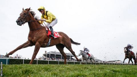 Jockey James Doyle wins his first race at Lincoln on Addeybb