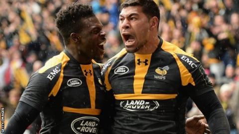 Wasps beat Exeter