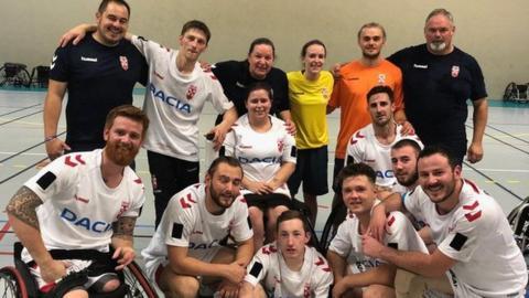 England wheelchair rugby league team