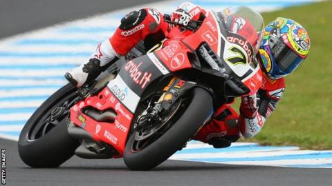 Chaz Davies dominated the weekend's opening World Superbike race in Aragon