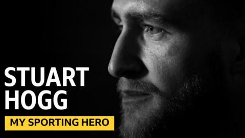 Stuart Hogg = my sporting hero graphic