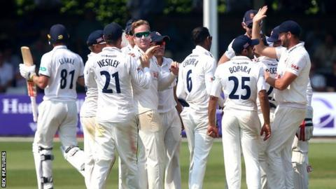 Simon Harmer now has 28 first-class wickets for the season
