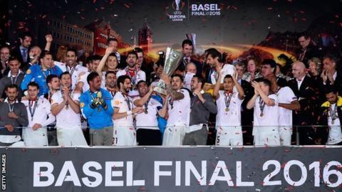 Sevilla win Europa League