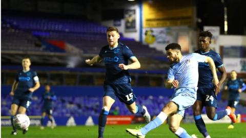 Max Biamou's two goals in the third-round replay against Bristol Rovers helped set up Coventry City's home FA Cup fourth-round clash with Birmingham City