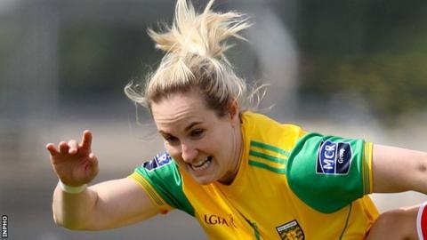 Donegal captain Karen Guthrie