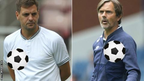 Jonathan Woodgate (left) and Phillip Cocu