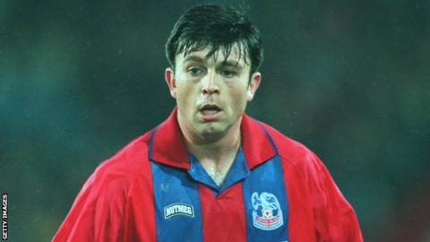 Darren Pitcher in action for Crystal Palace