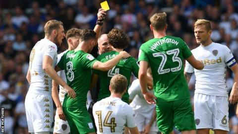 Ben Pearson is booked